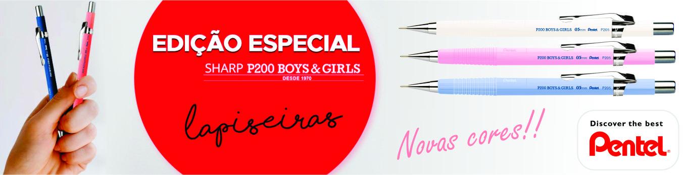 Banner Pentel Sharp P200 Boys & Girls