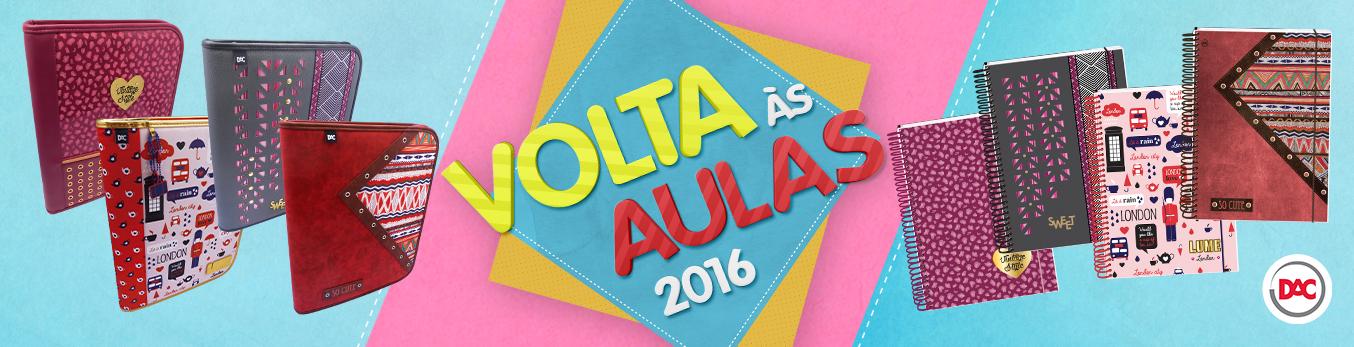 Banner Volta Às Aulas 2016 Com A DAC