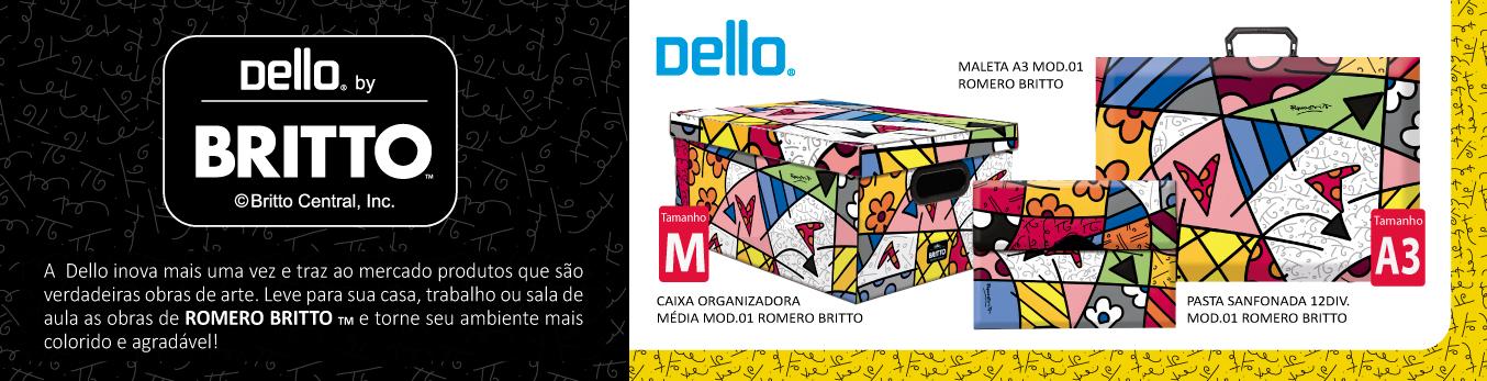 Banner Dello By Romero Britto