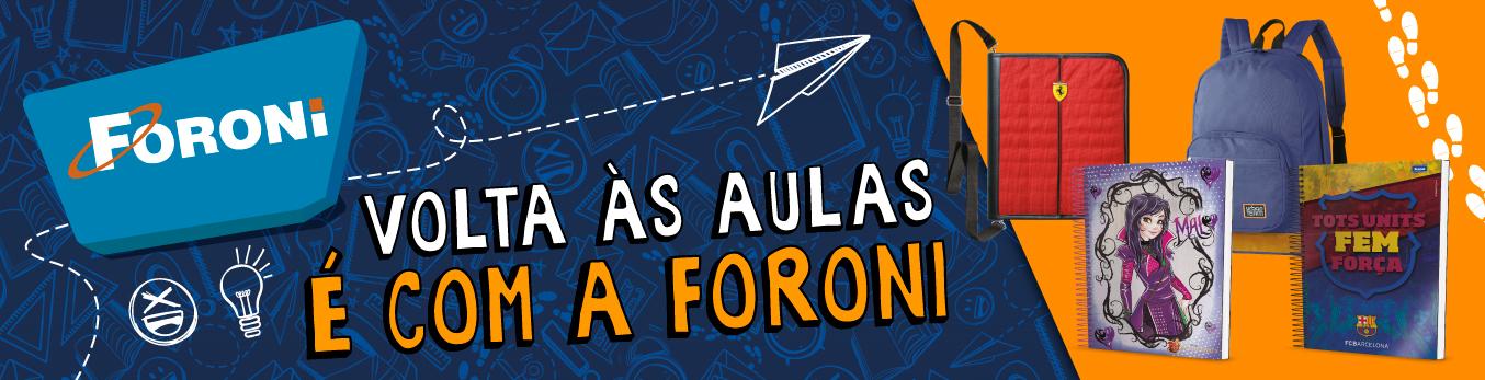 Banner Volta Às Aulas É Com A Foroni